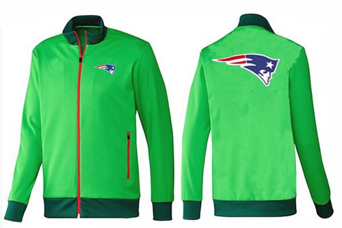 NFL New England Patriots Team Logo Jacket Green