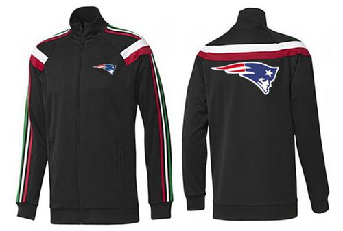 NFL New England Patriots Team Logo Jacket Black