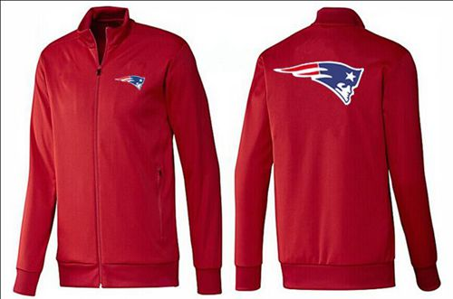 NFL New England Patriots Team Logo Jacket Red