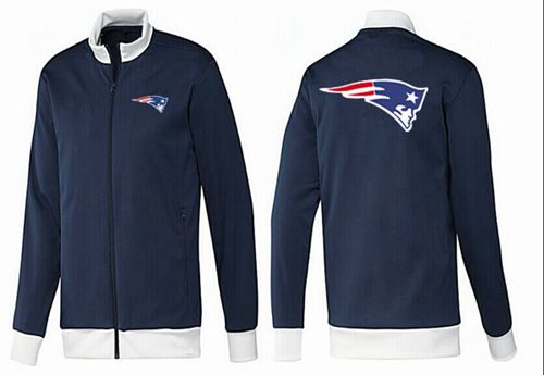 NFL New England Patriots Team Logo Jacket Dark Blue