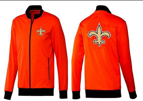 NFL New Orleans Saints Team Logo Jacket Orange