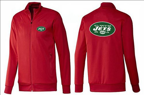 NFL New York Jets Team Logo Jacket Red