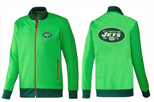 NFL New York Jets Team Logo Jacket Green_2
