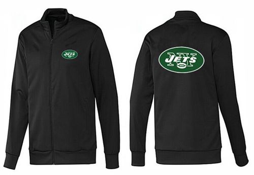NFL New York Jets Team Logo Jacket Black_1