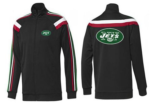 NFL New York Jets Team Logo Jacket Black_2