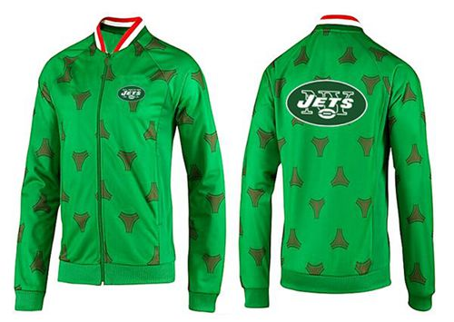 NFL New York Jets Team Logo Jacket Green_1