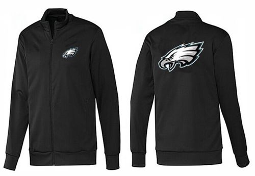 NFL Philadelphia Eagles Team Logo Jacket Black_1