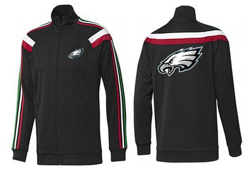 NFL Philadelphia Eagles Team Logo Jacket Black_3