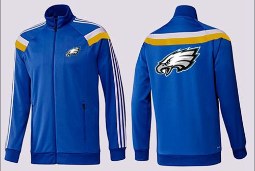 NFL Philadelphia Eagles Team Logo Jacket Blue_2