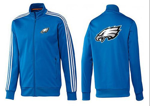NFL Philadelphia Eagles Team Logo Jacket Blue_1