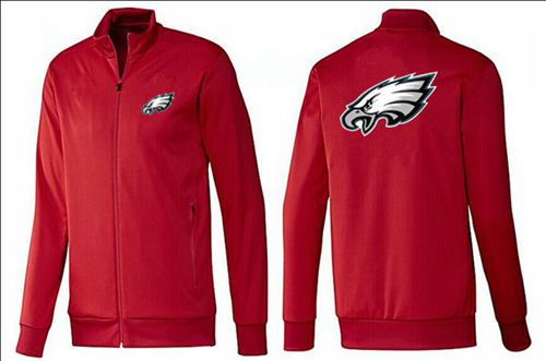 NFL Philadelphia Eagles Team Logo Jacket Red