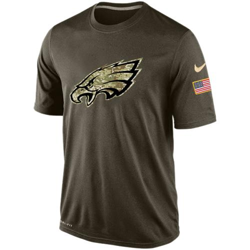 Men's Philadelphia Eagles Salute To Service Nike Dri-FIT T-Shirt