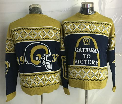 Nike Rams Men's Ugly Sweater