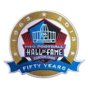 Stitched NFL 1963-2013 Pro Football Hall of Fame 50th Anniversary Fifty Years Jersey Patch