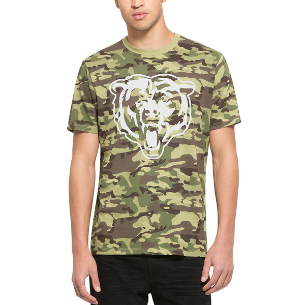 Men's Chicago Bears '47 Camo Alpha T-Shirt