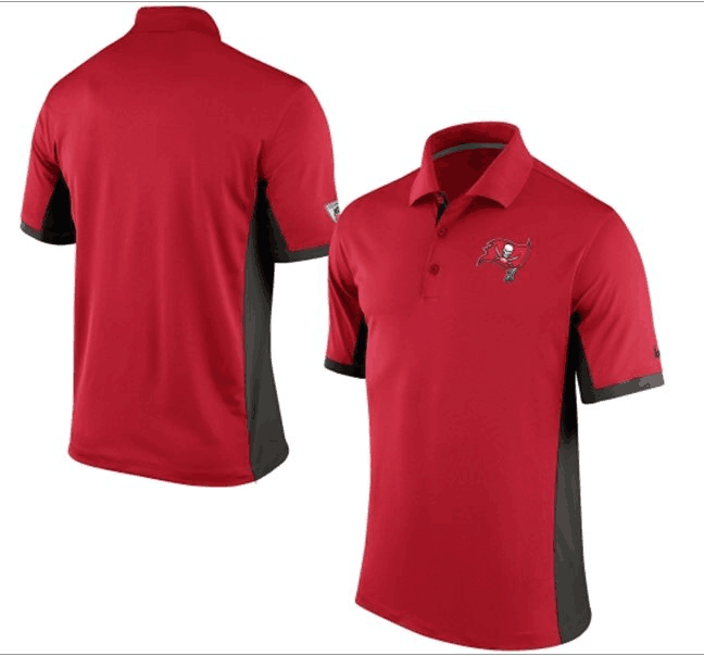 Men's Nike Tampa Bay Buccaneers Nike Red Evergreen Polo