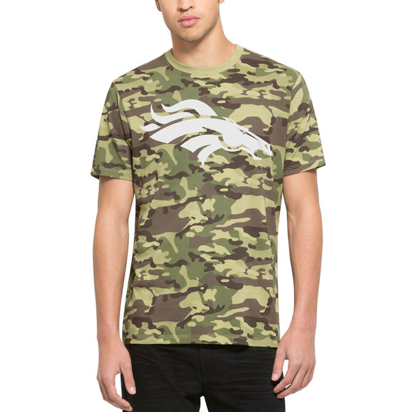 Men's Denver Broncos '47 Camo Alpha T-Shirt