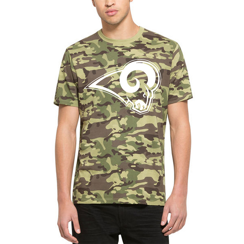 Men's St.Louis Rams '47 Camo Alpha T-Shirt