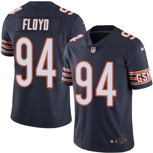 Nike Bears #94 Leonard Floyd Navy Blue Men's Stitched NFL Limited Rush Jersey