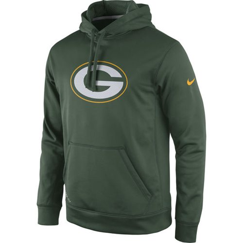 Green Bay Packers Nike Practice Performance Pullover Hoodie Green