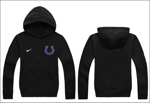 Nike Indianapolis Colts Authentic Logo Hoodie Black