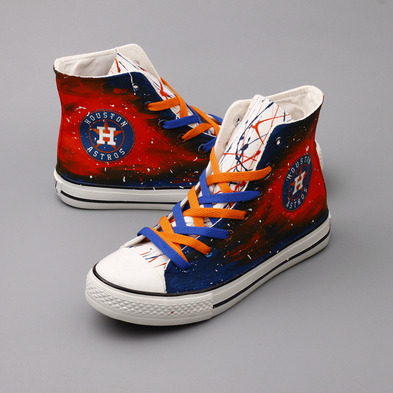 2018 Astros Sneakers New Baseball Shoes