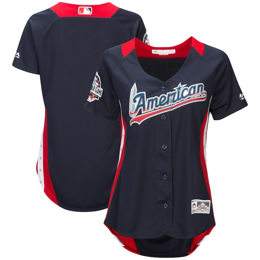 Women's American League Navy 2018 MLB All-Star Game Home Run Derby Team Jersey