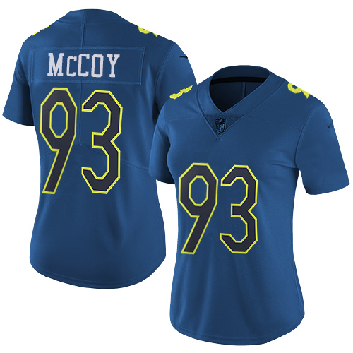 Nike Buccaneers #93 Gerald McCoy Navy Women's Stitched NFL Limited NFC 2017 Pro Bowl Jersey