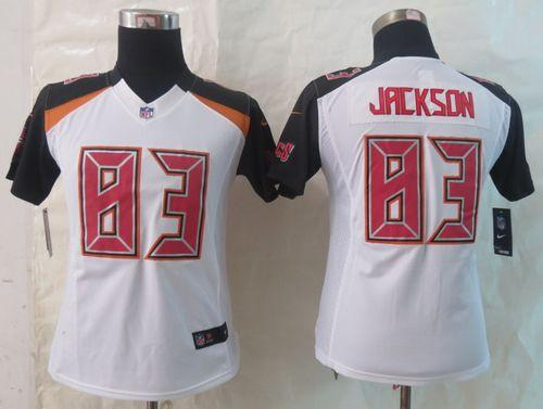 Nike Buccaneers #83 Vincent Jackson White Women's Stitched NFL New Limited Jersey