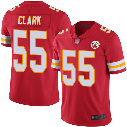 Nike Chiefs #55 Frank Clark Red Team Color Youth Stitched NFL Vapor Untouchable Limited Jersey