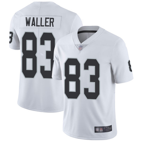 Nike Raiders #83 Darren Waller White Youth Stitched NFL Vapor Untouchable Limited Jersey