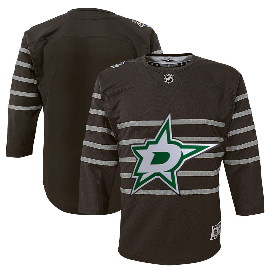 Youth Dallas Stars Gray 2020 NHL All-Star Game Premier Jersey