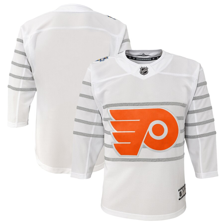 Youth Philadelphia Flyers White 2020 NHL All-Star Game Premier Jersey