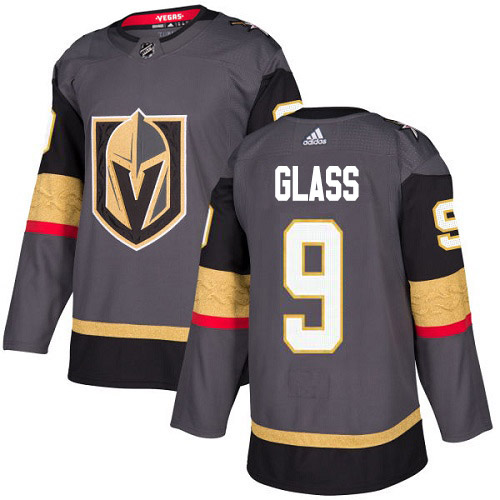 Adidas Golden Knights #9 Cody Glass Grey Home Authentic Stitched Youth NHL Jersey