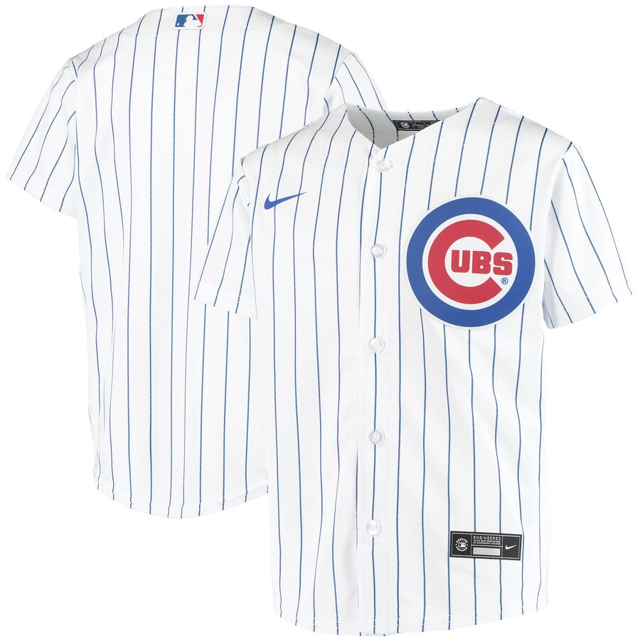 Chicago Cubs Nike Youth Home 2020 MLB Team Jersey White