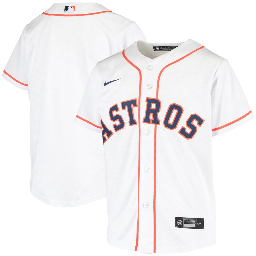 Houston Astros Nike Youth Home 2020 MLB Team Jersey White