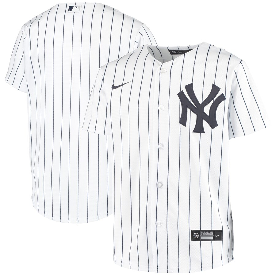 New York Yankees Nike Youth Home 2020 MLB Team Jersey White