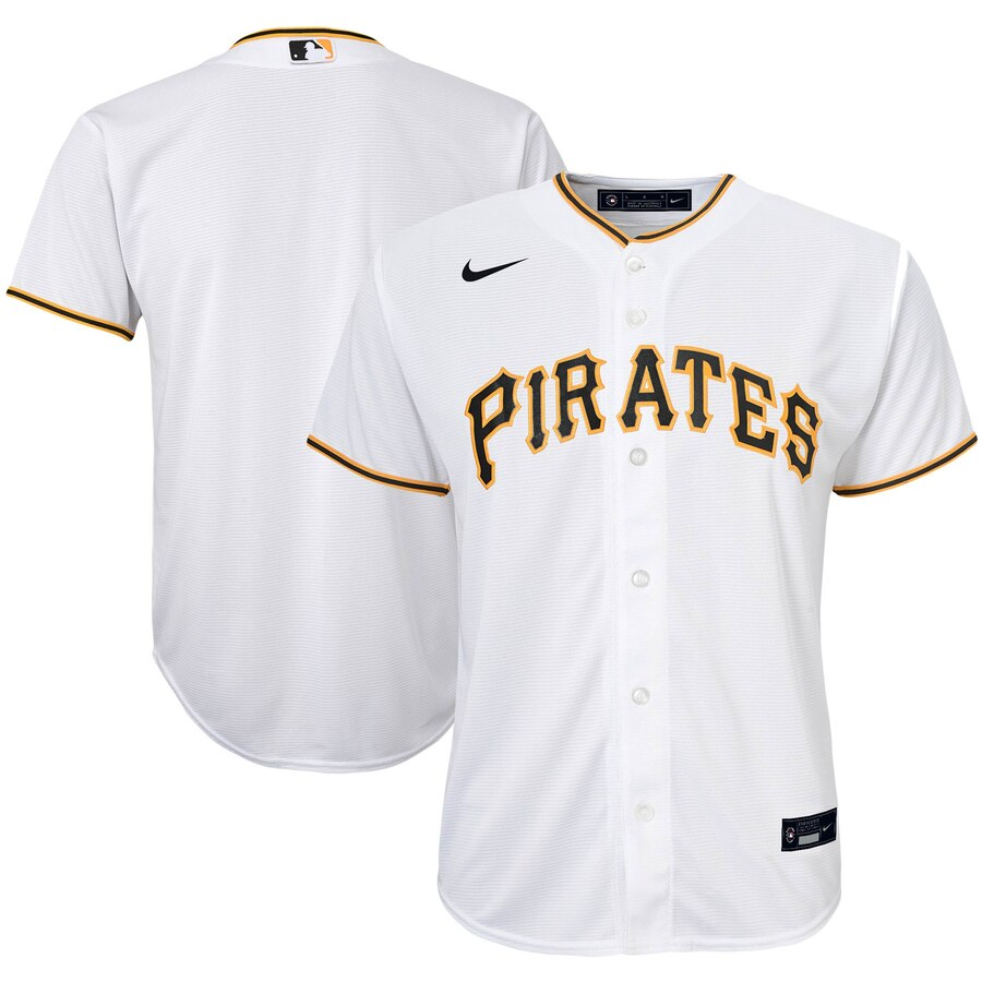 Pittsburgh Pirates Nike Youth Home 2020 MLB Team Jersey White