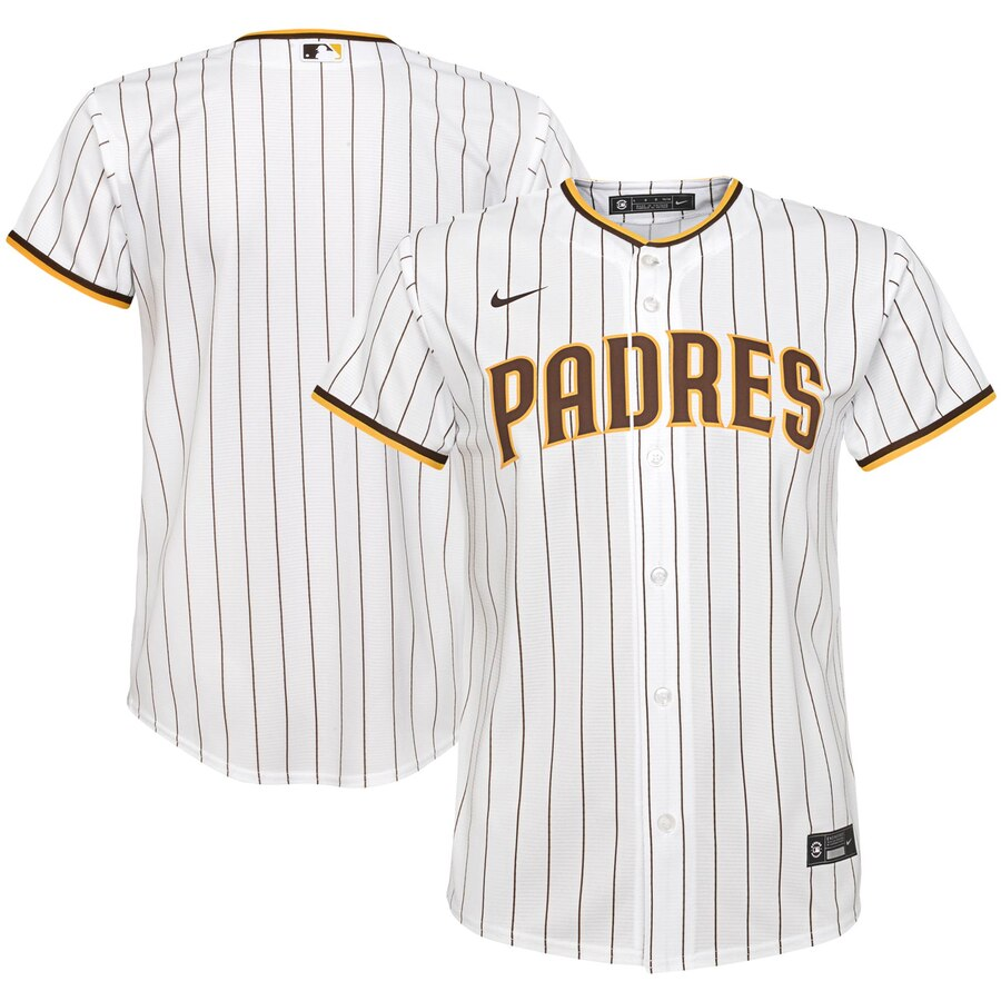 San Diego Padres Nike Youth Home 2020 MLB Team Jersey White