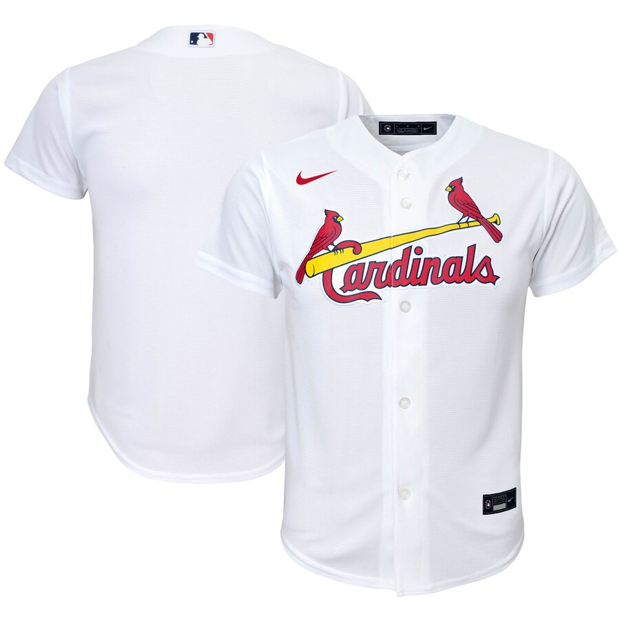 St. Louis Cardinals Nike Youth Home 2020 MLB Team Jersey White