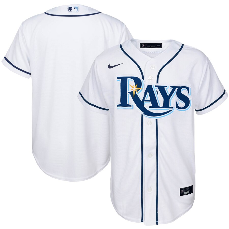 Tampa Bay Rays Nike Youth Home 2020 MLB Team Jersey White