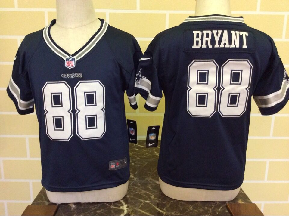 Toddler Nike Dallas Cowboys #88 Dez Bryant Blue Stitched NFL Jersey