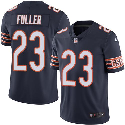 Nike Bears #23 Kyle Fuller Navy Blue Youth Stitched NFL Limited Rush Jersey