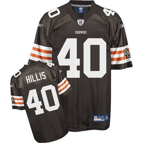Browns #40 Peyton Hillis Brown Stitched Youth NFL Jersey