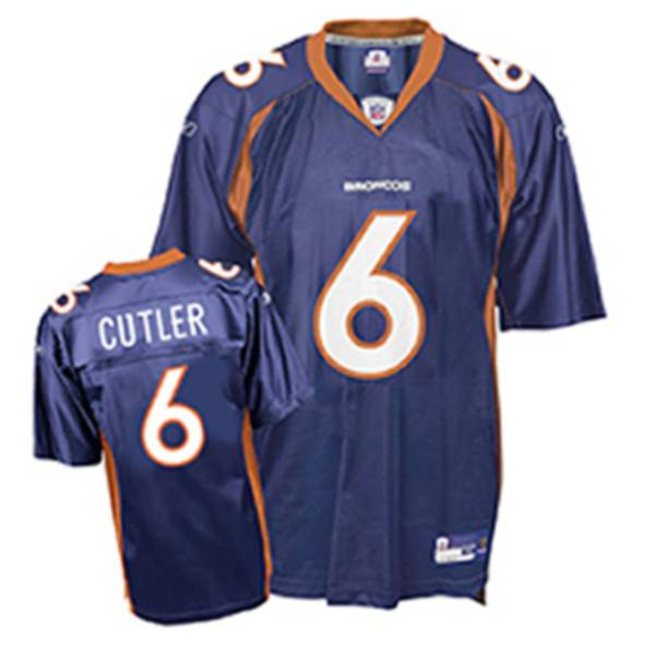 Broncos #6 Jay Cutler Dark Blue Stitched Youth NFL Jersey