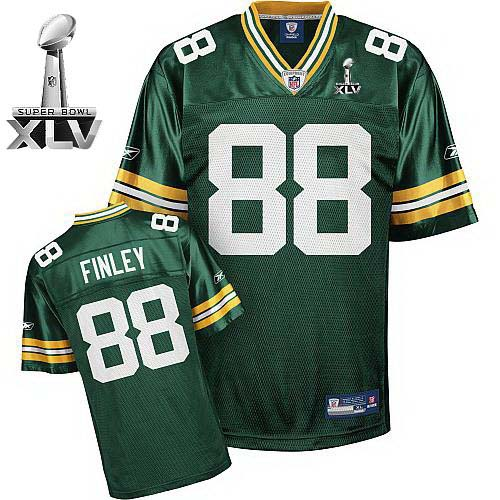 Packers Jersey #88 Jermichael Finley Green Super Bowl XLV Stitched Youth NFL Jersey