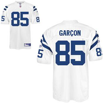 Colts #85 Pierre Garcon White Stitched Youth NFL Jersey