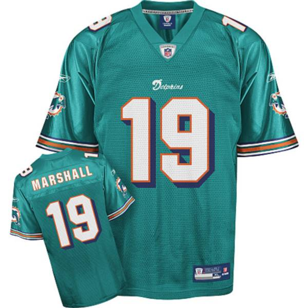 Dolphins #19 Brandon Marshall Green Stitched Youth NFL Jersey
