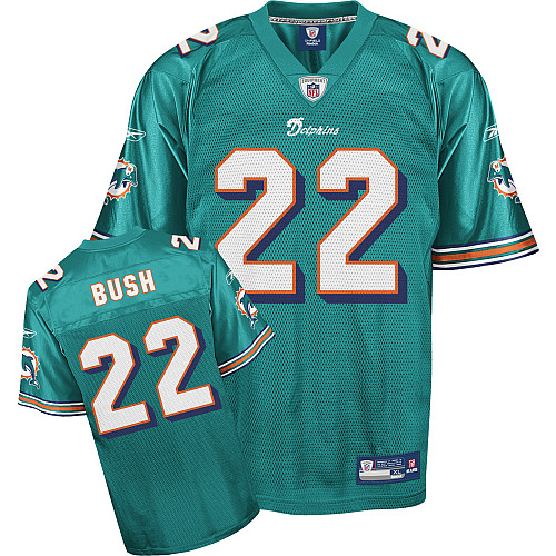 Dolphins #22 Reggie Bush Green Team Color Stitched Youth NFL Jerseys