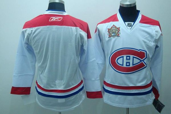 Canadiens Blank Winter Classic Stitched Youth NHL Jersey